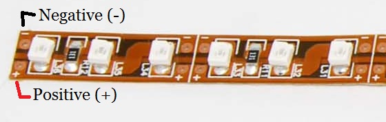led flexible strip light 3528 solderless connector