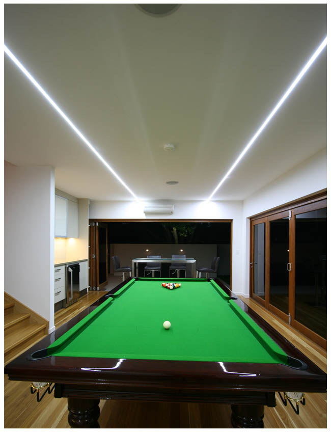 LED strip light example game room ultra bright