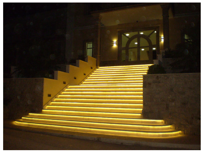 Outdoor and Patio LED strip light examples