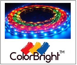 color bright light LED strip lights ultra bright