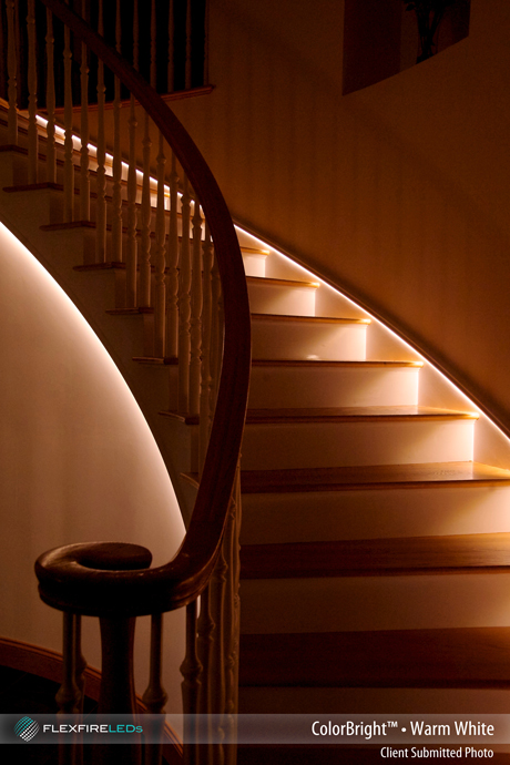Led Walkway And Stairway Lighting By Project