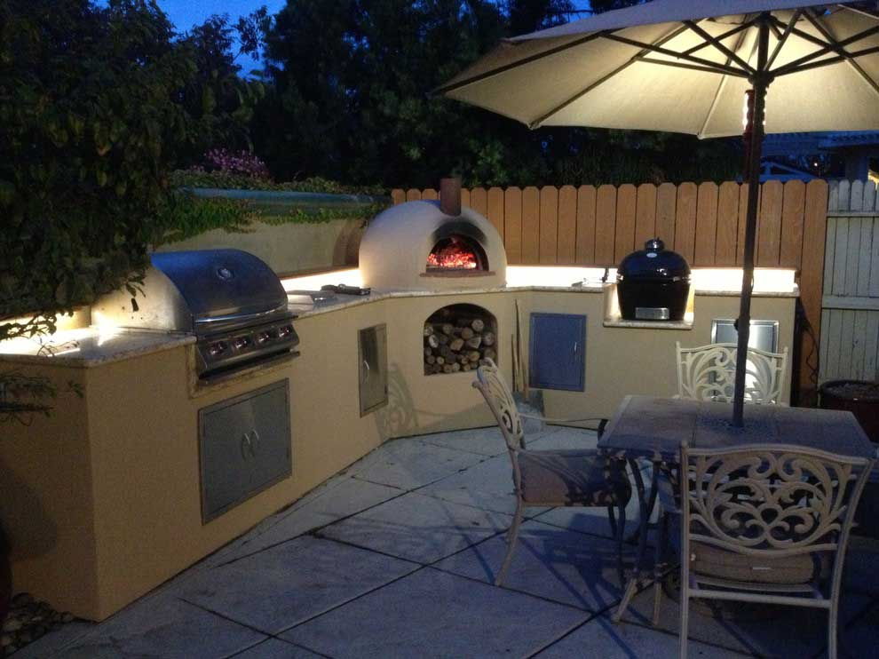 bbq under bar lighting outdoor flexfireleds