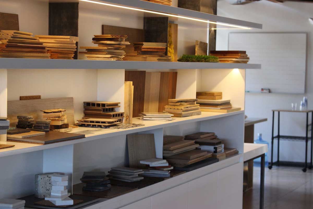 interior design LED strip shelving 03