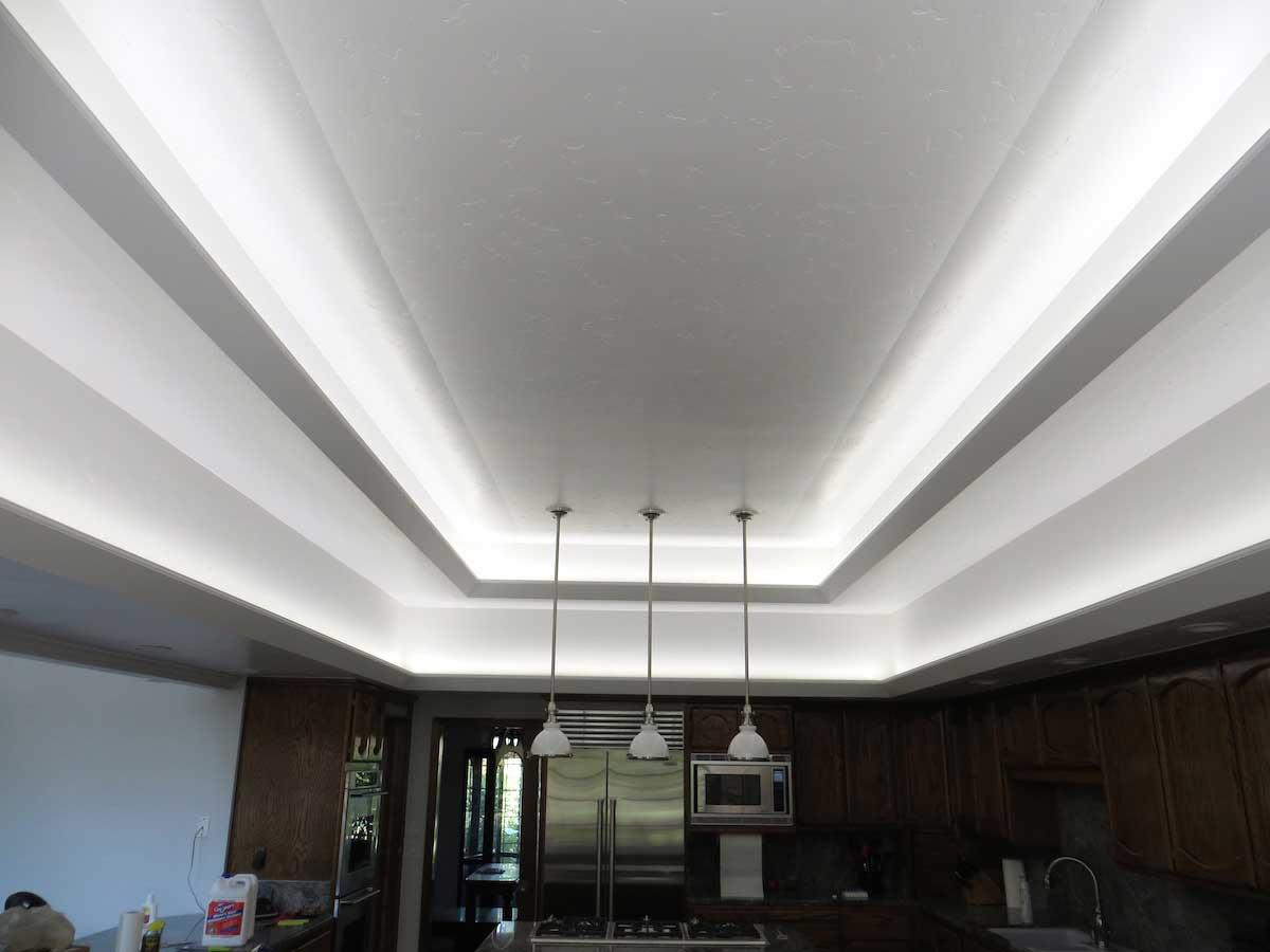 modern kitchen led cove lighting 3. Black Bedroom Furniture Sets. Home Design Ideas
