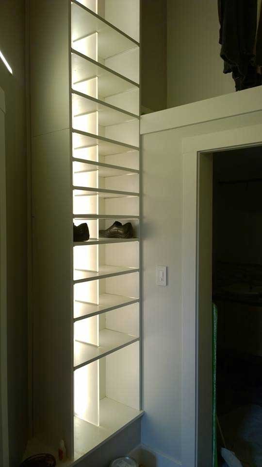Gentil Modern LED Closet Installation
