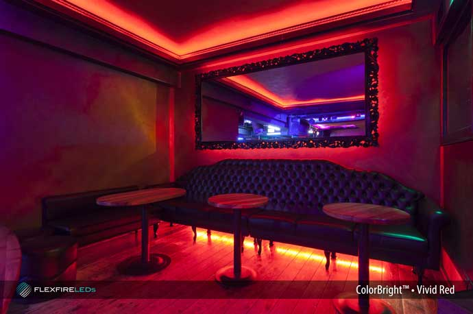 Night Club VIP Accent LED Lighting