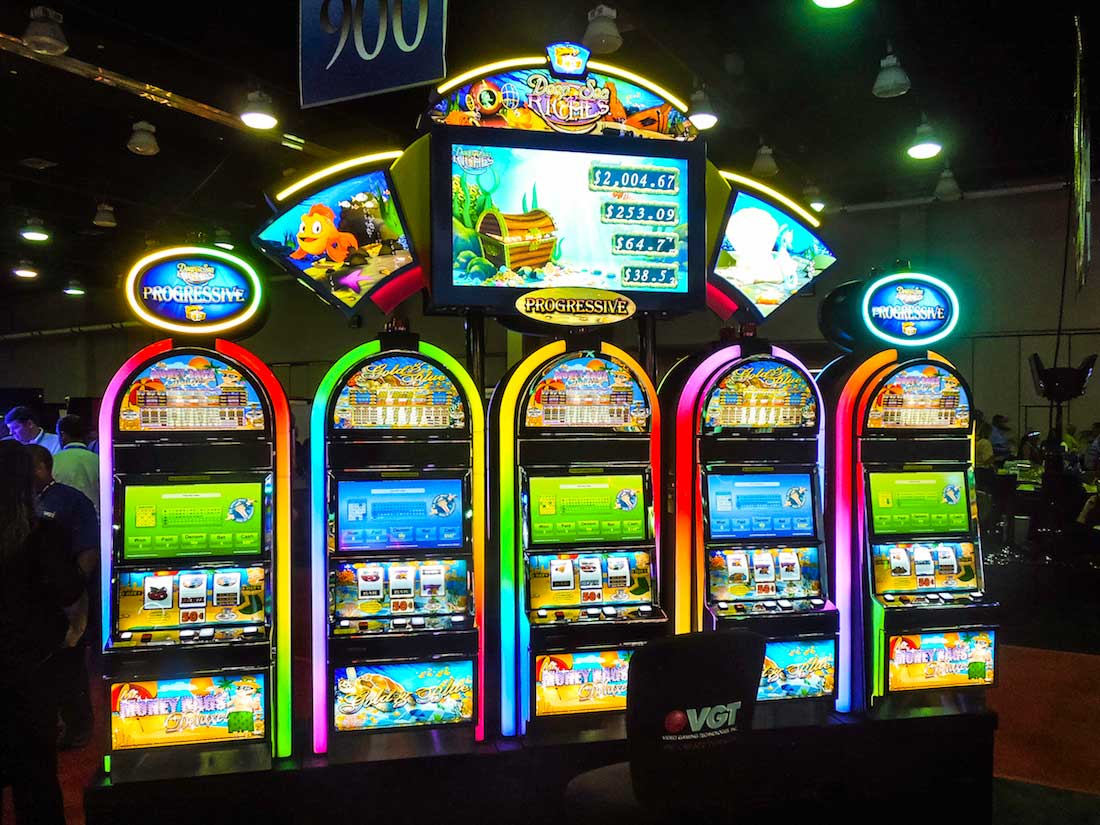 slot machine LED lighting