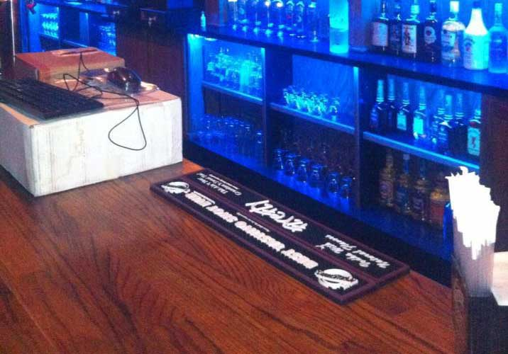 Thirst T's RGB bar lighting design