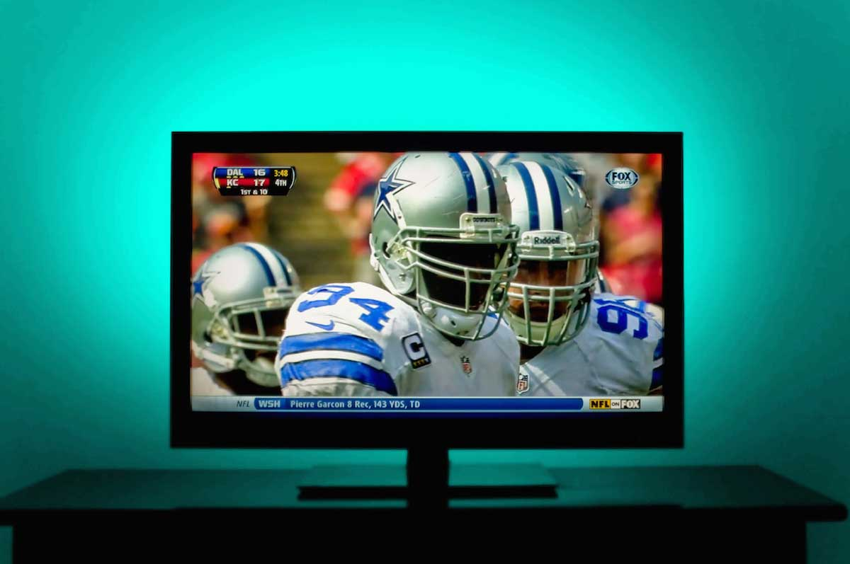 tv backlighting with rgb strips