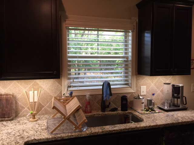 UltraBright LED strip light kitchen